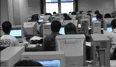 コンピュータ室の様子